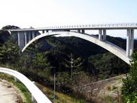 鳥間大橋コンクリート保護工法(表面保護工法)